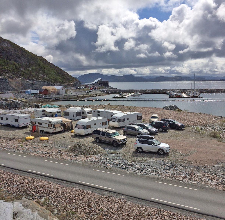 Parkering av bobiler og caravan