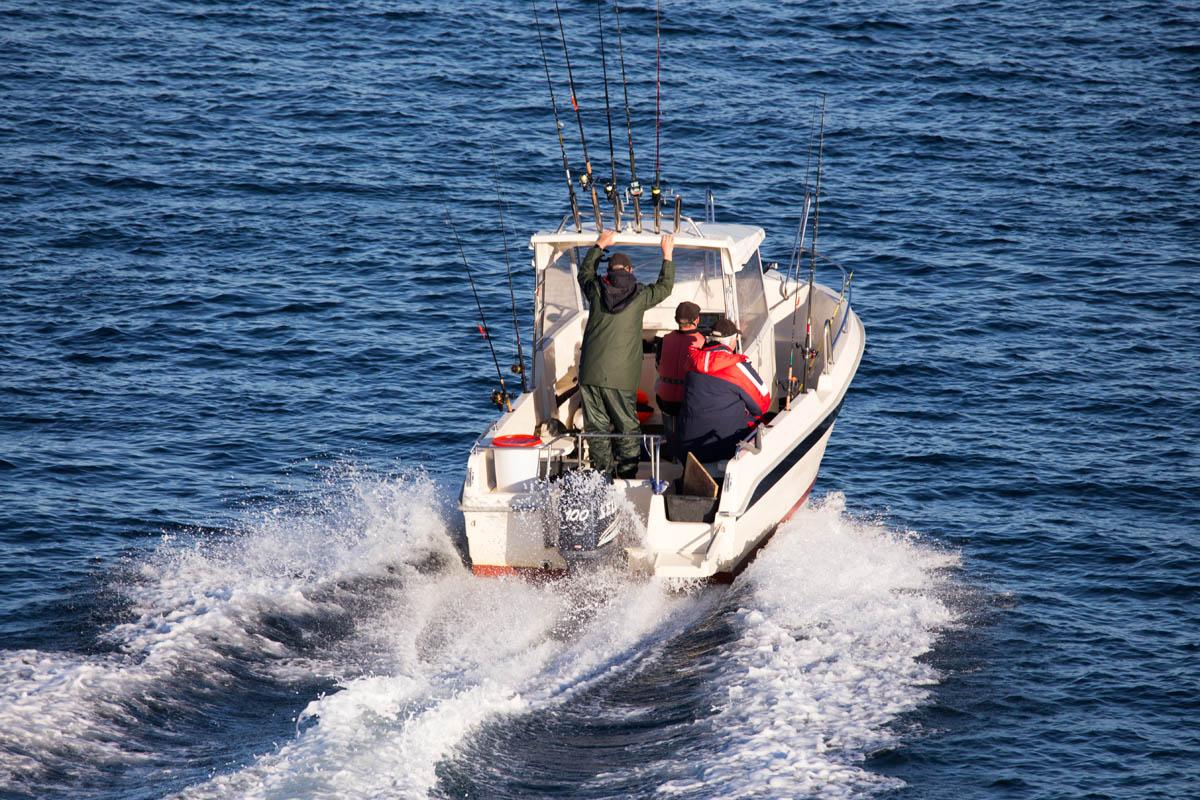 Dra på fisketur